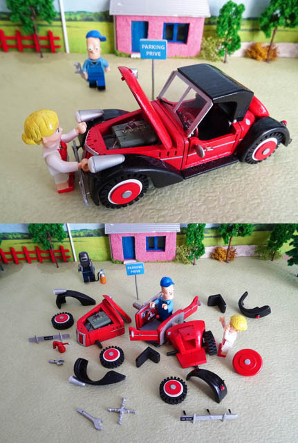 couleurs bois voiture pour lego 1 1. Black Bedroom Furniture Sets. Home Design Ideas