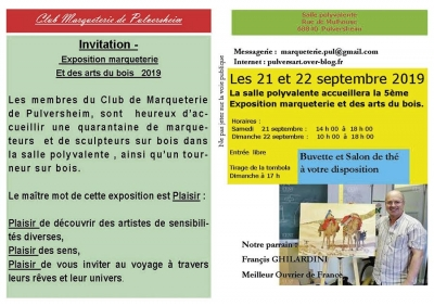 Exposition marqueterie